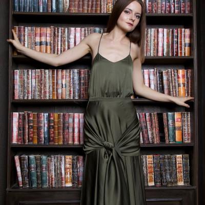 """Купить зелёное шёлковое платье как у Киры Найтли в """"Искуплении"""""""
