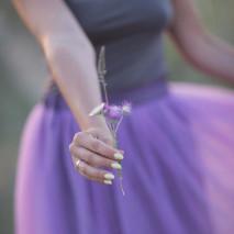 Лариса в юбке-пачке в стиле Кэрри Брэдшоу