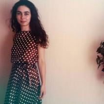 Лилия в платье в горошек из «Красотки»