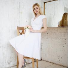 Белое летнее платье из фильма «Под солнцем Тосканы»