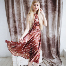 Платье из фильма «Красотка» в горошек